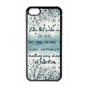 Unique Design Cases Ipod Touch 6 Cell Phone Case Black Be Free Birds Cute Quote Bbbtn Printed Cover Protector