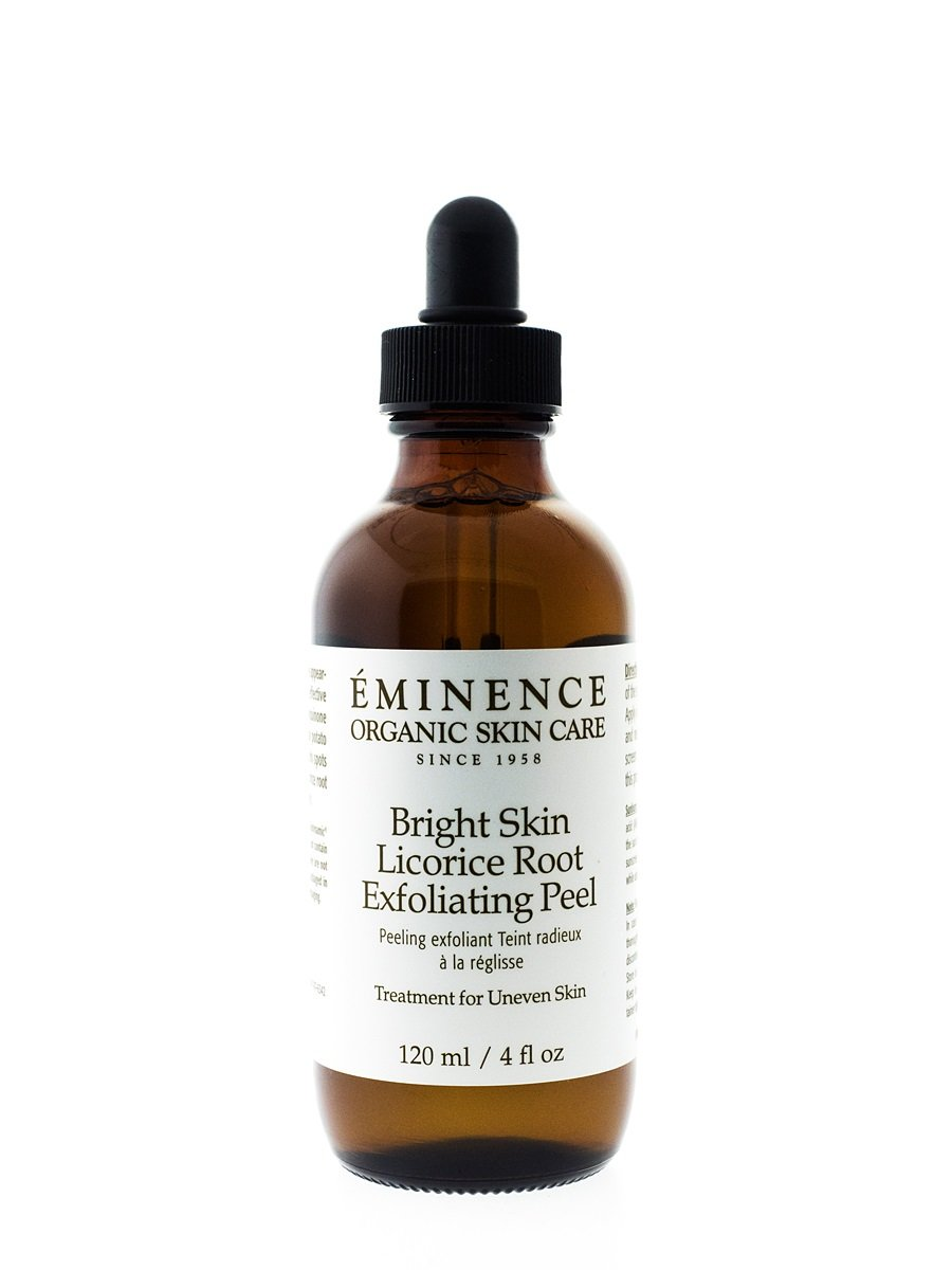Eminence Organic SkinCare Exfoliating peel bright skin licorice root 4 oz