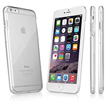 BoxWave iPhone 6 Plus Crystal Shell Case- Slim-Fit Ultra Lightweight Transparent Polycarbonate Clear Hard Shell Case Designed for the iPhone 6 Plus - Cases and Covers (Crystal Clear)