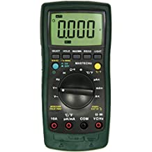 Mastech MS8220R 6,000 Counts Auto-ranging True RMS AC/DC Digital Multimeter with RS232 PC Interface and Temperature C&F