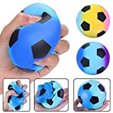 callm Slow Rising Squishies Cute Squeeze Toys Colorful Football Scented Charms Stress Reliever Toys for Kids and Adults (starry sky)