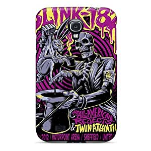 ChristopherWalsh Samsung Galaxy S4 Comfortable Phone Hard Covers Custom HD Blink 182 Band Skin [gjU10466fQgJ]
