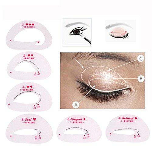 Alonea 4Set Beauty Smokey Shaper Makeup Tool Eye Shadow Temp