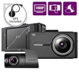 THINKWARE X700 Dual Dash Cam Front and Rear Camera for Cars, 1080P FHD, Dashboard Camera Recorder with G-Sensor, Car Camera W/Sony Sensor, GPS, WiFi, Night Vision, 16GB, Optional Parking Mode