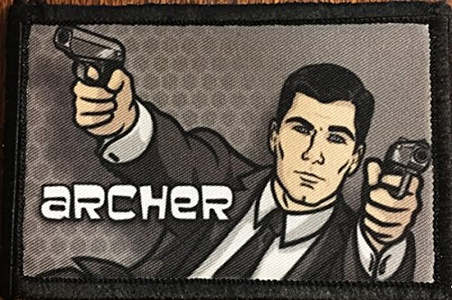 Archer Morale Patch. Perfect for your Tactical Military Army