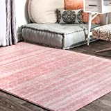 Cheap nuLOOM Moroccan Blythe Area Rug, 8′ x 10′, Pink