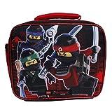 Lego The Ninjago Movie Boys' Black Insulated Lunch Bag