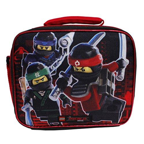 Lego The Ninjago Movie Boys' Black Insulated Lunch Bag by LEGO