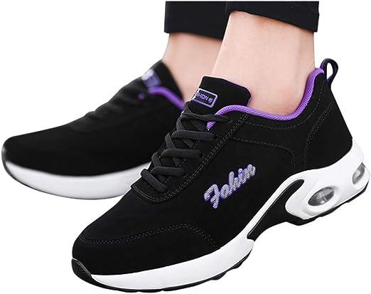 Zapatillas Deportivas de Mujer Air Cordones Zapatillas de Running Fitness Sneakers Zapatillas de Deportes Mujer Zapatos Deportivos Running Zapatillas para Correr Ligero y con Estilo: Amazon.es: Industria, empresas y ciencia