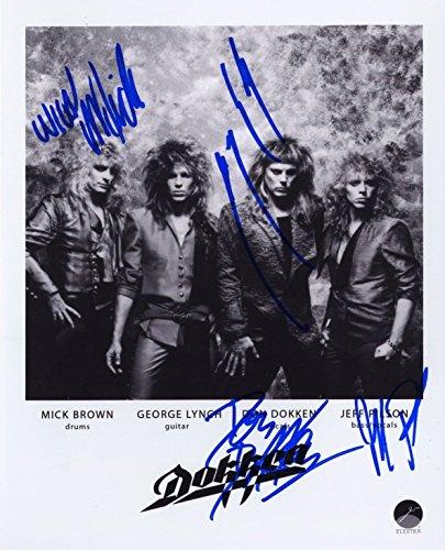 DOKKEN - Reprint 8x10 inch Photograph - ROCK MUSIC BAND MICK BROWN GEORGE LYNCH DON DOKKEN JEFF PILSON