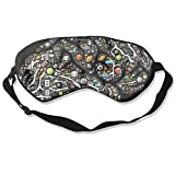 Sleep Mask Sports Balls Eye Cover Blackout Eye Masks,Soothing Puffy Eyes,Dark Circles,Stress,Breathable Blindfold For Women Men