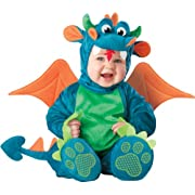 InCharacter Baby Dinky Dragon Costume, Teal/Green, Small (6 - 12 Months)