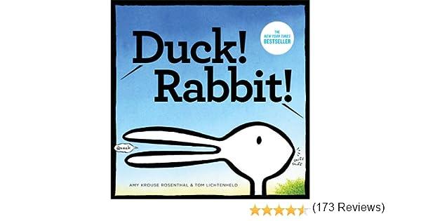 Duck! Rabbit!: Amy Krouse Rosenthal, Tom Lichtenheld ...