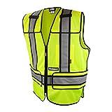 DEWALT DSV421-4X/6X Class 2 Adjustable Breakaway Vest, X-Large