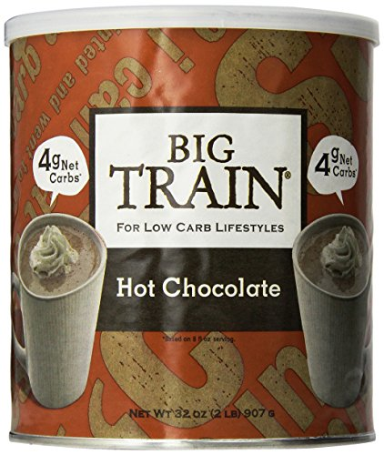 Big Train Hot Chocolate Mix - 2lb Can (Big Train Low Carb)