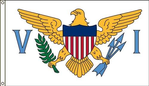 Americas Flag SF4X6NOVI1 4-Foot by 6-Foot Nylon Virgin Is...