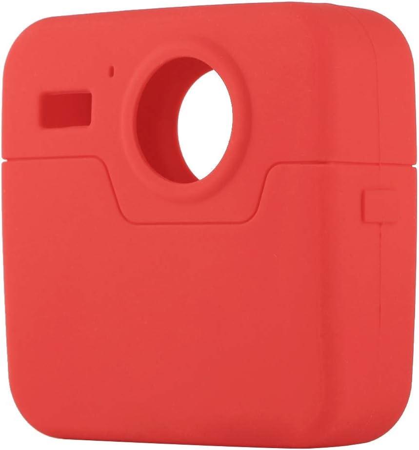 Color : Red Black VKeyueDa VKeyueDa for GoPro Fusion Silicone Protective Case