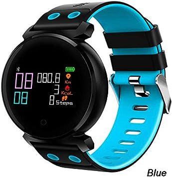 WDXDP Pulsera Inteligente K2 Bluetooth Smart Watch Colorido OLED Presión Arterial Oxígeno Smartwatch Monitor De Ritmo Cardíaco Banda Inteligente A Prueba De Agua