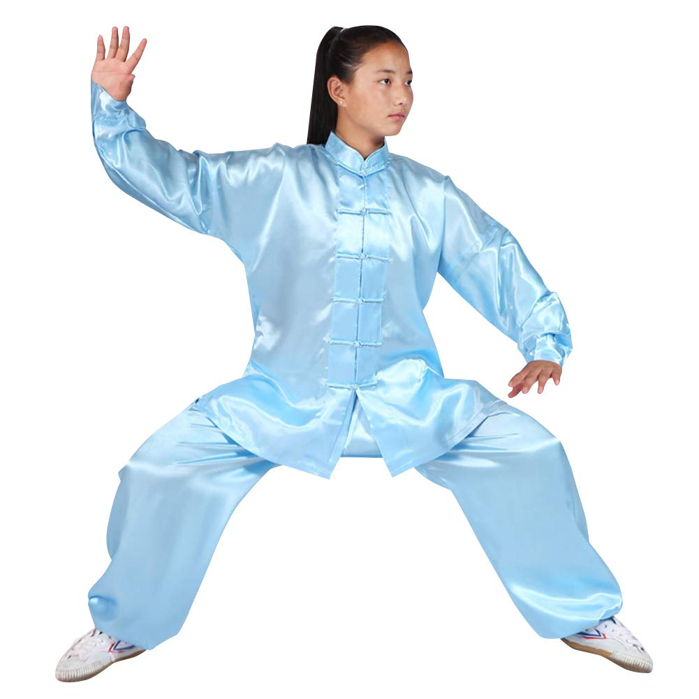 uirend Martial Arts Unisex Adult Kids Sets Performances Kung Fu Tai Chi Clothes by uirend