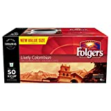 Folgers Lively Colombian K-Cup Coffee Pods, 50 K-Cup Pods, 450g