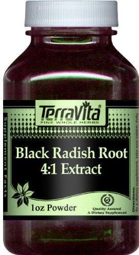 Extra Strength Black Radish Root 4:1 Extract Powder (1 oz, ZIN: 511235)