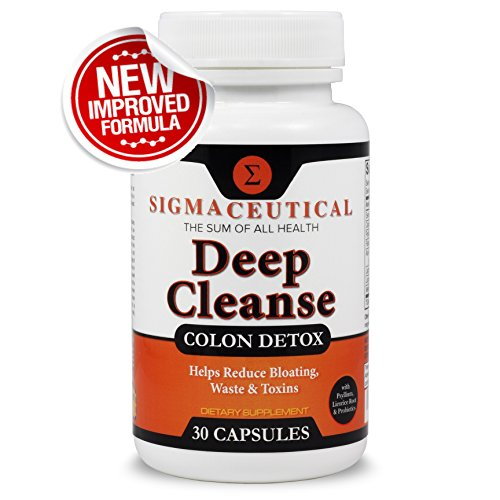 Colon Cleanse - Detox Cleanse - Weight Loss & Increased Energy - Bowel Cleanse - 30 Capsules