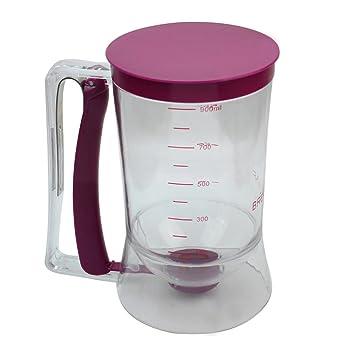 900 ml Cupcake Pancake Cake Batter Dispensador de mezcla para repostería jarra hornear herramientas de eléctrica: Amazon.es: Hogar