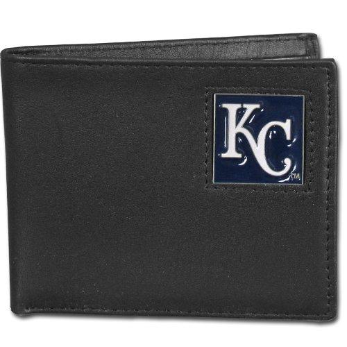 Royals Mlb Leather - Siskiyou MLB Kansas City Royals Leather Bi-fold Wallet