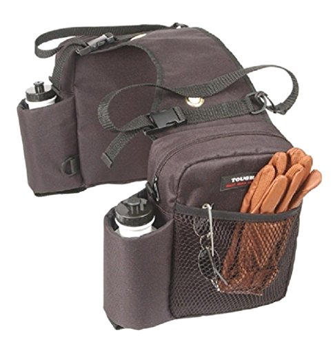 Dog Ducati Monster - TOUGH 1 BROWN Trail Deluxe Heavy Duty Saddle BAG INSULATED Horse Tack