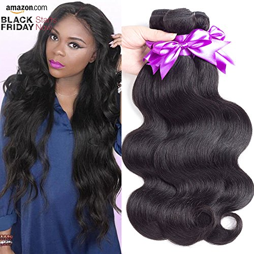 wet and wavy human hair weave - 4