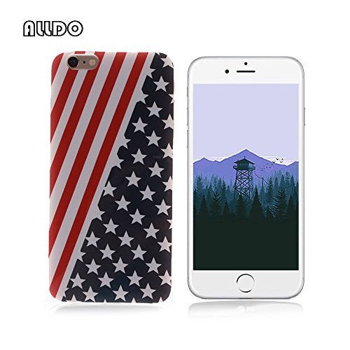 AllDo Soft Case for iPhone 6/6S (4.7-inch) TPU Silicone Case Ultra Thin Slim Cover Flexible Smooth Phone Skin Lightweight Protective Bumper – the Star…
