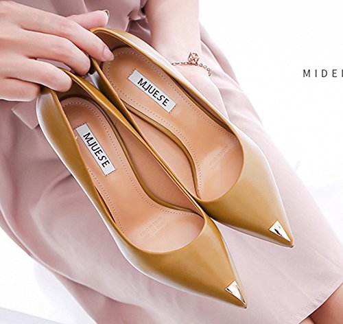 Bout Chaussures Pointu Mode Femme Aisun Mari De EqHp4Fw