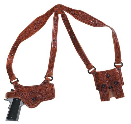 ELPASO SADDLERY CO El Paso Saddlery SPXD94RR Spyder Shoulder System Full Size/Compact -