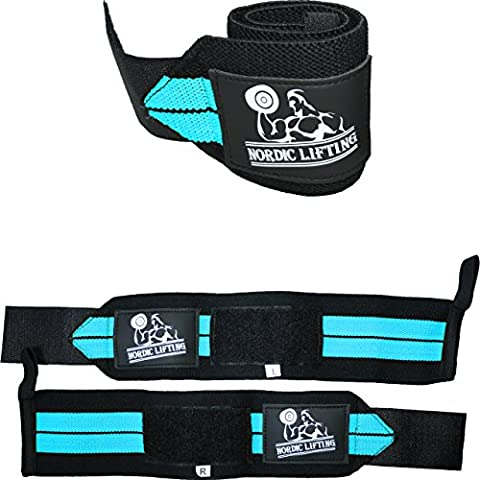 Wrist Wraps (1 Pair/2 Wraps) for Weightlifting/Cross