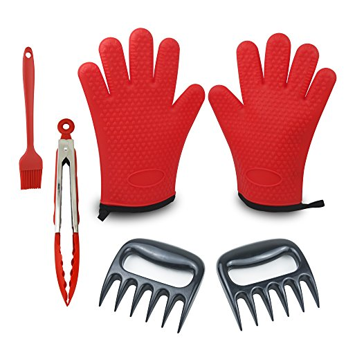 Barbecue Tools Set Silicone Stainless