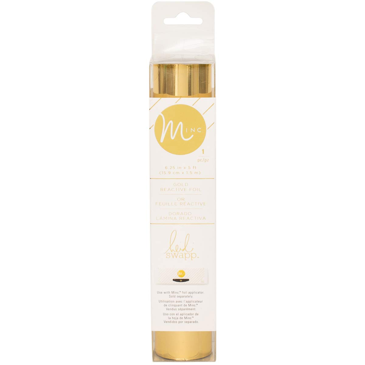 MINC Collection Reactive Foil 6 Inch Gold (8 Pack)
