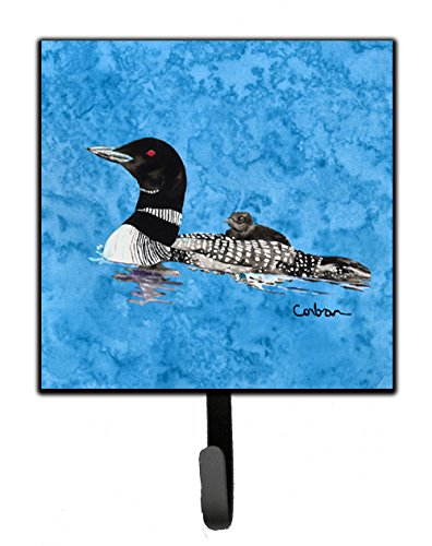 Caroline's Treasures 8718SH4 Bird-Loon Leash Holder or Key Hook, Small, Multicolor