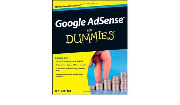 Google AdSense For Dummies: Amazon.es: Jerri L. Ledford: Libros en idiomas extranjeros