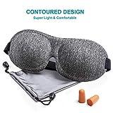 Sleep Mask, 3D Contoured Sleep Eye Mask, Comfortable & Super Soft Sleeping Mask