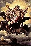 Raphael Ezekiels Vision Fine Art Poster 12x18 inch