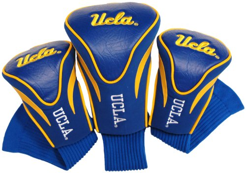 NCAA UCLA Bruins 3 Pack Contour Head Covers