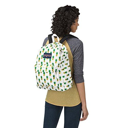JanSport Unisex Superbreak Classic Ultralight Backpack Tropic Gold
