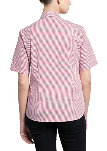 ETERNA half sleeve Blouse COMFORT FIT striped fucsia