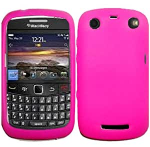 Hot Pink Soft Silicone Gel Skin Cover Case for BlackBerry Curve 9350 9360 9370