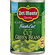 Del Monte, Cut Green Beans, 14.5oz Can (Pack of 6)