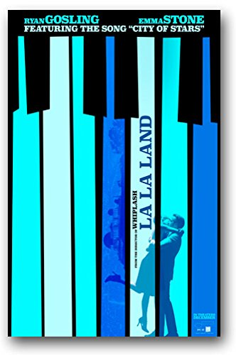 Poster La La Land Movie Promo Flyer 11 x 17 LaLa Musical Pia