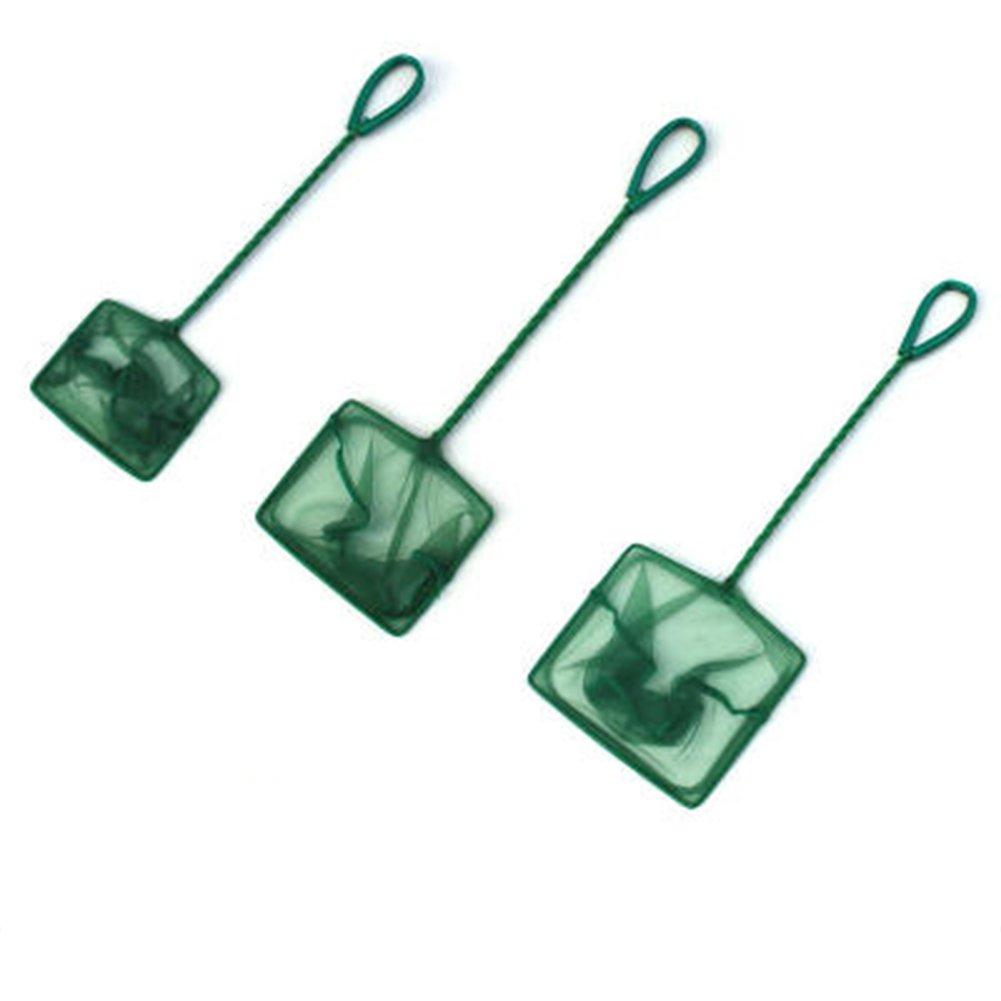 EMVANV acquario Nets Green Quick Catch Fish net in carro armato