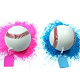 2 pack Gender Reveal Exploding Baseball Set - (1 pink & 1 blue) for Sex Reveal Party, Loaded With MORE Powder! by Par-T