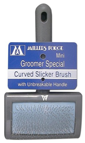 Millers Forge Curved Slicker Brush Mini - Miller Forge Comb