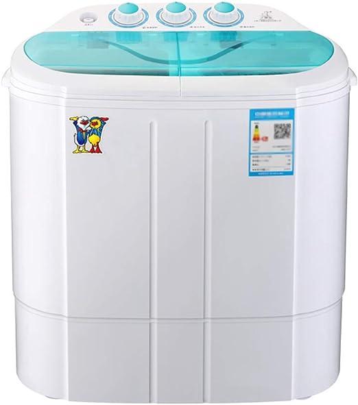Lavadoras Mini mostrador, portátil Tina Doble con compartimientos ...